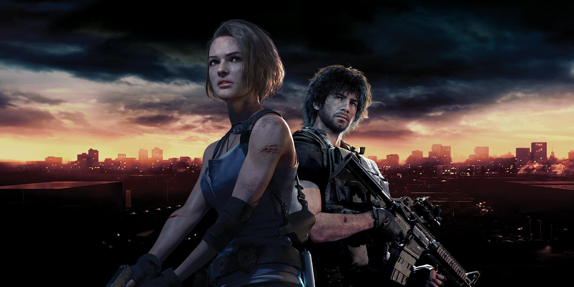 Resident Evil 3 cast