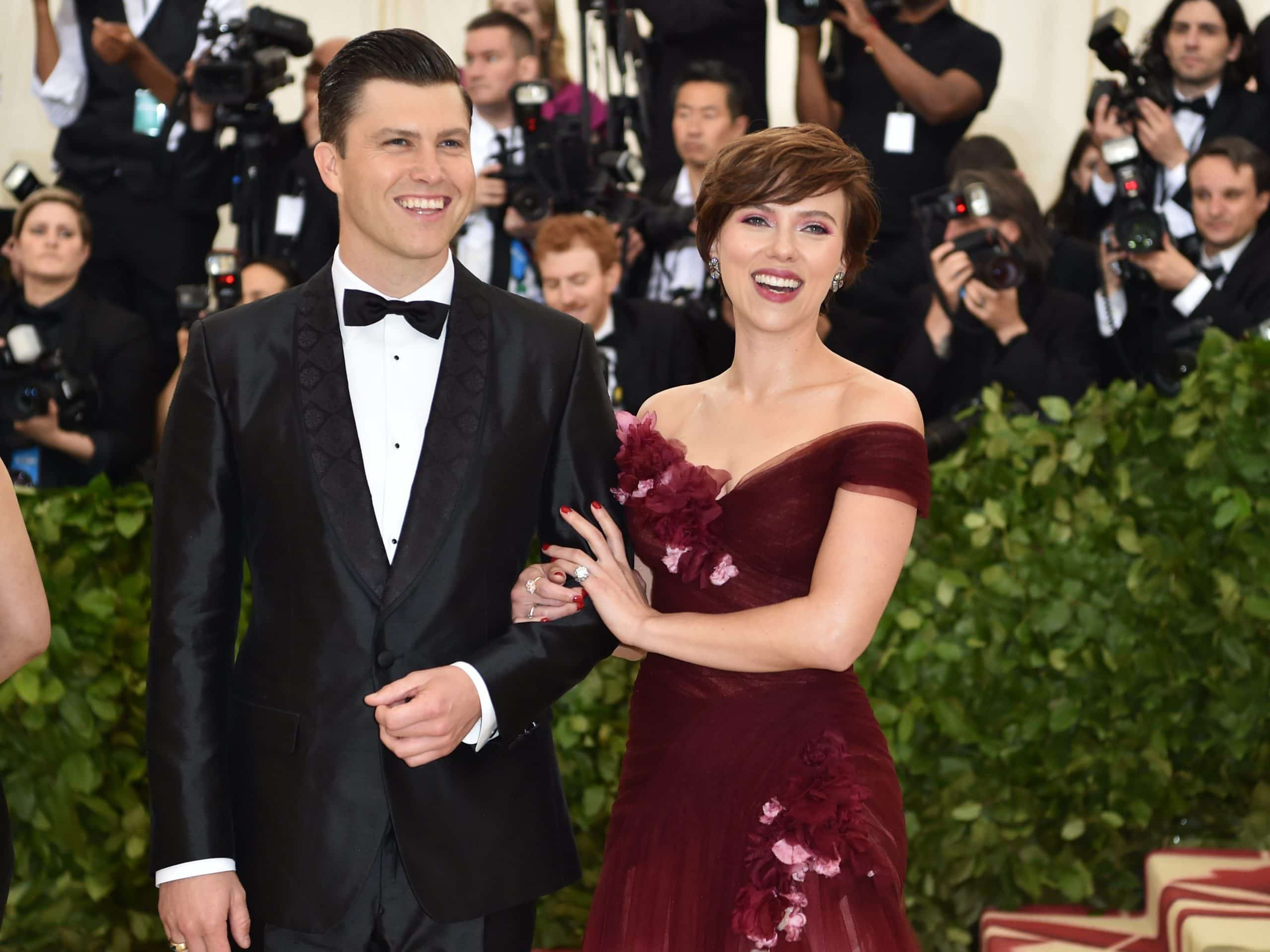 Johansson-And-Collin-Jest Relationship