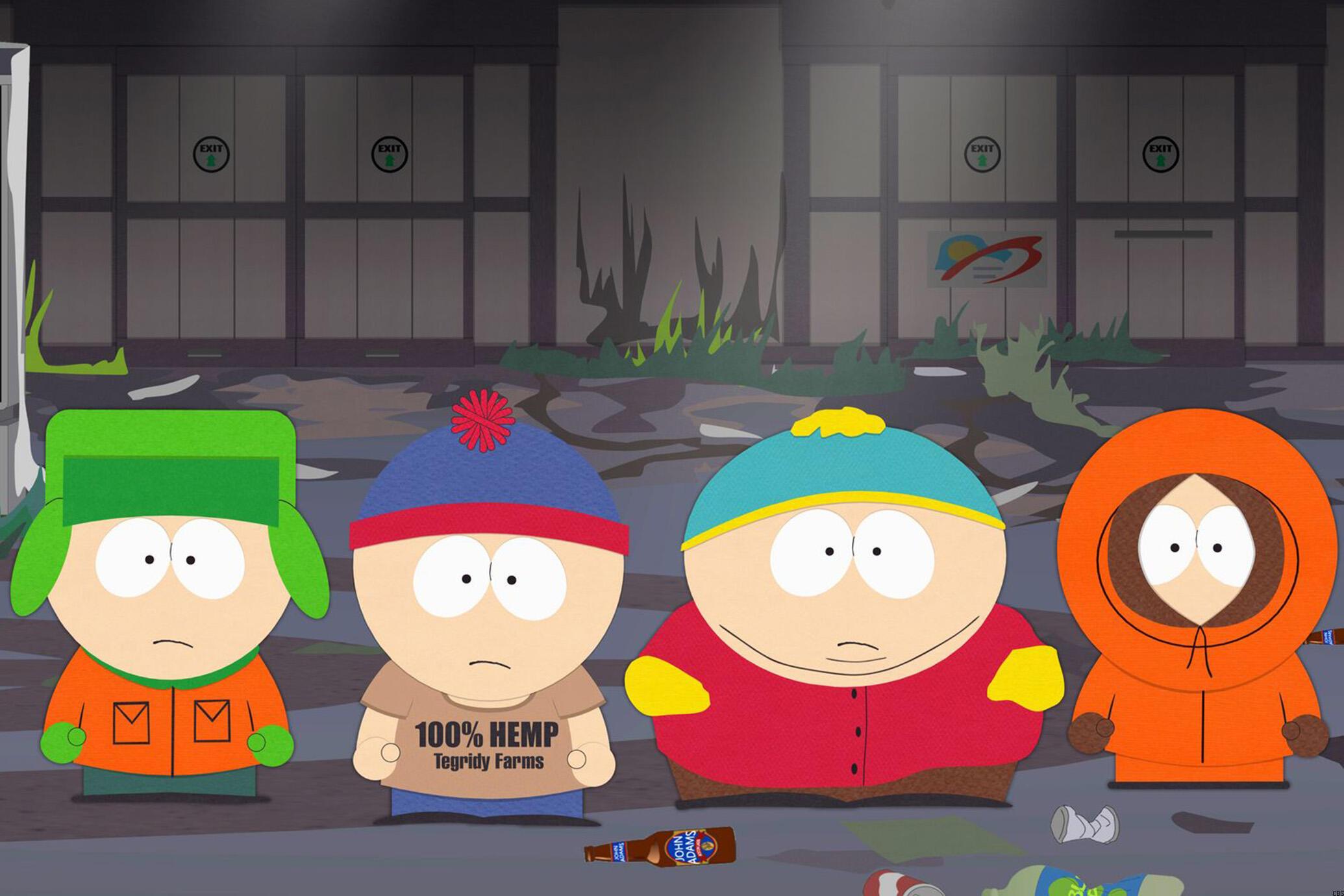 South Park Season 24 banner