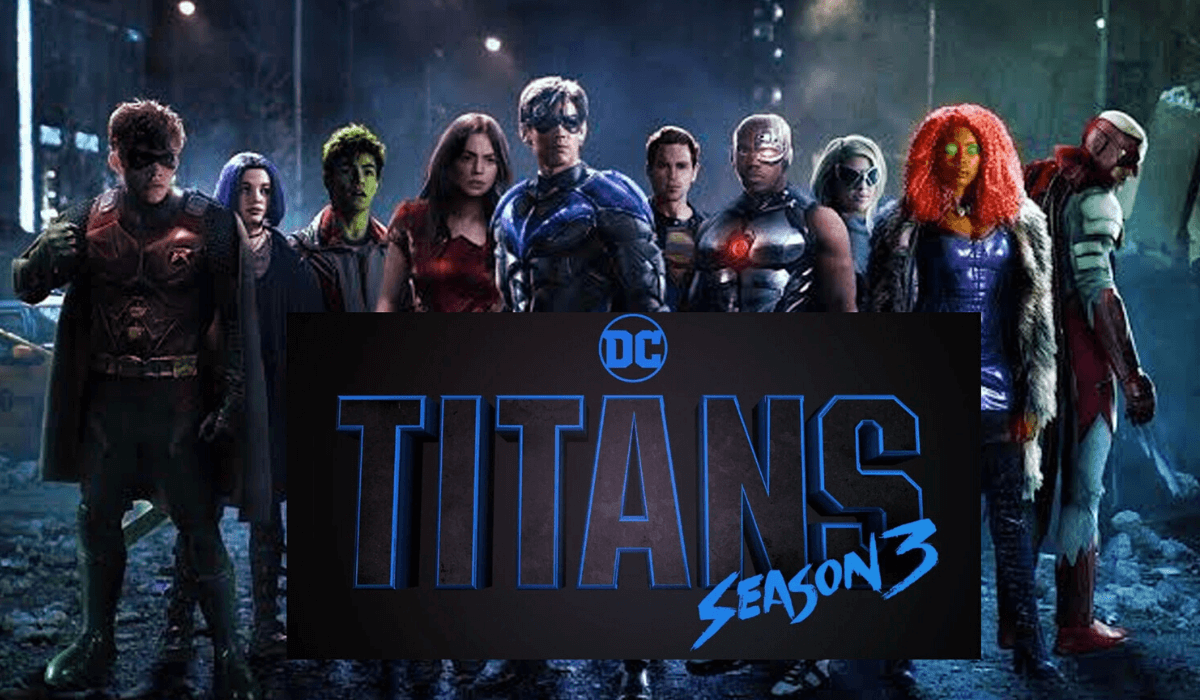 Titans Season 3 hd banner