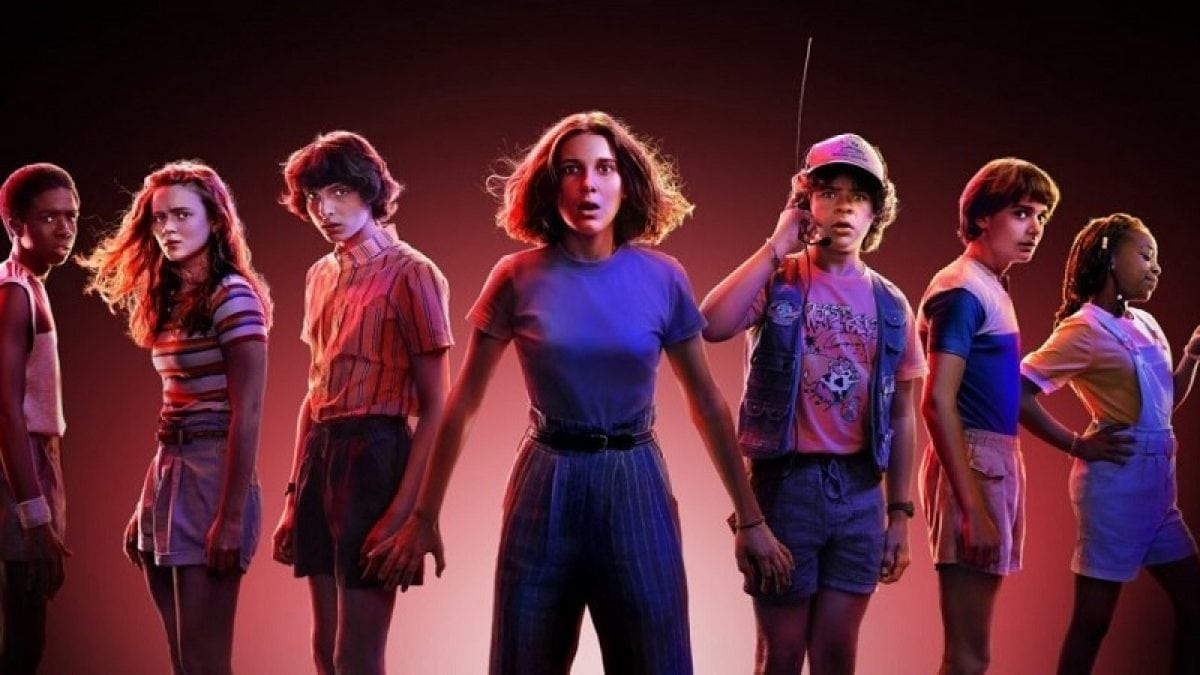 Stranger Things Season 3 banner